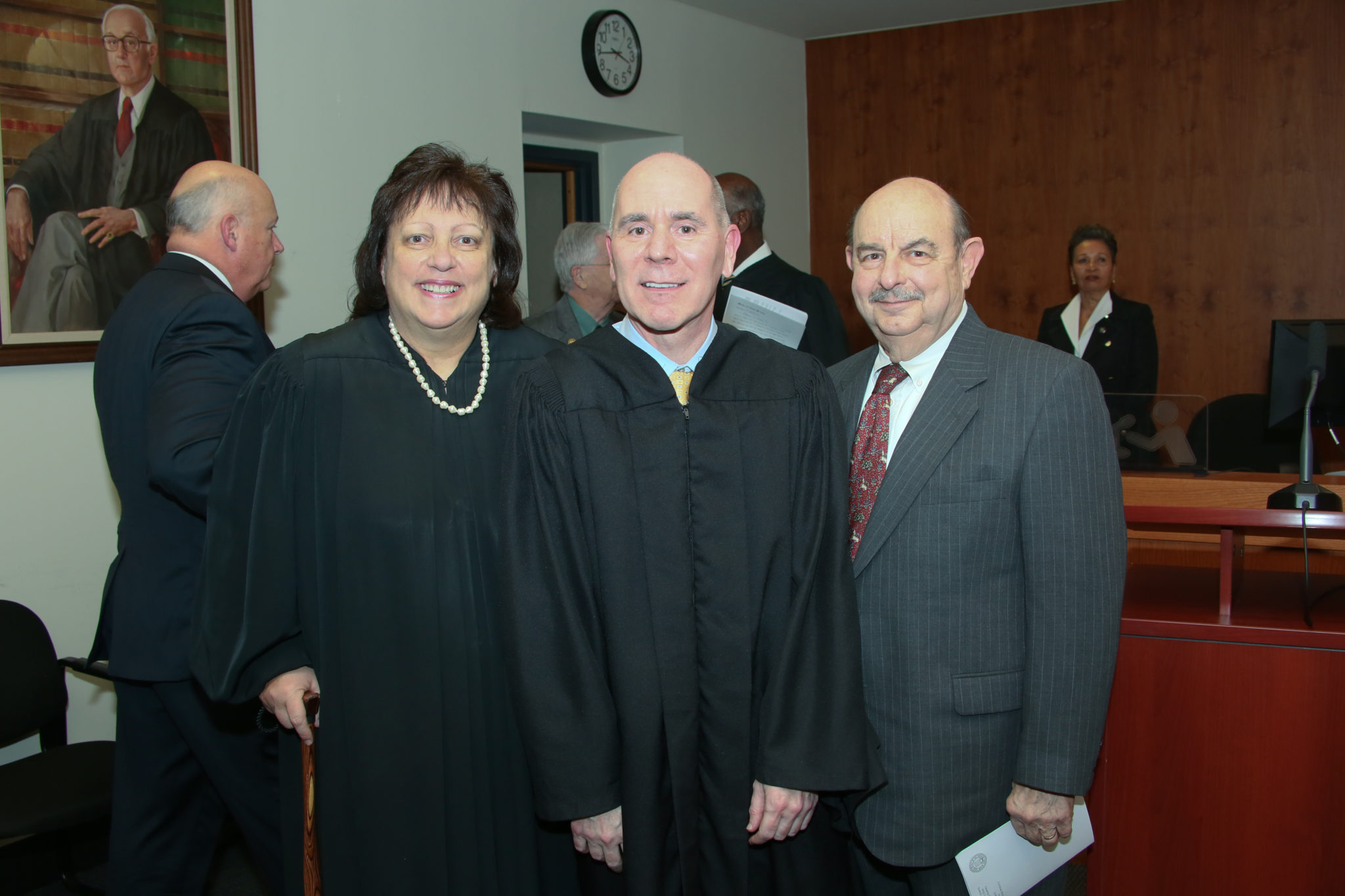 Judge Corodemus swears in Judge Bob Jones